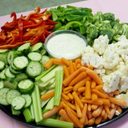 Vegetable Tray, Raw